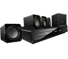Mit dem integrierten DVD-Player lässt Sie das HTD3500 in eine Welt der High Definition eintauchen. Und das alles mit einer Gesamtausgangsleistung von 300 W RMS. Hinzu kommen Dolby Digital, um alle Feinheiten des Klangs perfekt wiederzugeben, und eine Bildverbesserungsfunktion für eine messerscharfe Anzeige.