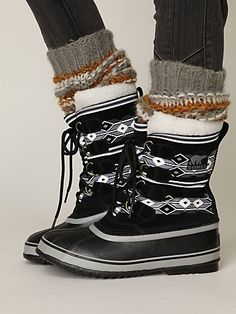 Sorel Pac Graphic Weather Boot at Free People Clothing Boutique - StyleSays