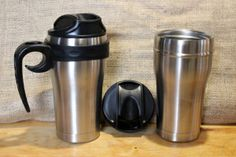 Kahveh Sleeve Tumblers, Stainless Steel, Mugs, Sleeve, Manga, Cups, Travel Mugs, Mug, Retail