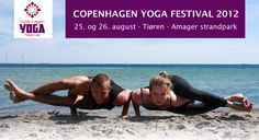 Copenhagen Yoga festival 2012 - 25.-26. august - Amager strandpark.
