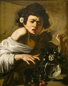 Michelangelo Merisi, kown as Caravaggio (1571 - 1610), Boy bitten by a Lizard, 1594