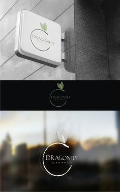 Logo for Organic Company, simple but professional, with a dragonfly in it. by sevillin