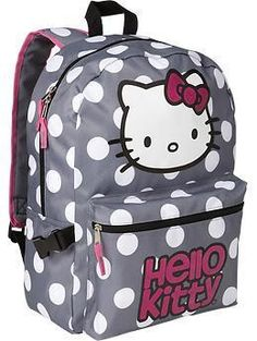 2e7ba6aae244 Backpack by Hello Kitty...hopefully better made than the one i bought her