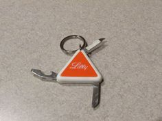 Lilly Pharmaceutical Keychain Knife by DocsCollectables on Etsy