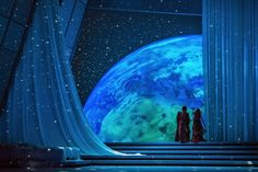 Act II of Semele, an opera by Handel.  The scene is in the palace of Jove, or Roman Jupiter (Greek Zeus).