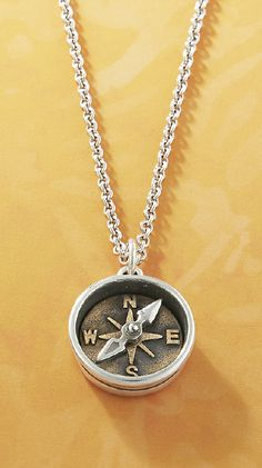 A symbol for the direction life takes you - Point the Way Charm from #jamesavery