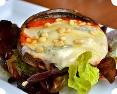 Portobello e gorgonzola