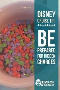 Be prepared and avoid the hidden charges Read: 20 Travel Tips for the Perfect Disney Cruise Aboard the Disney Wonder Disney Wonder Cruise, Disney Magic Cruise, Disney Fantasy Cruise, Disney Cruise Door, Disney Tips, Disney Disney, Disney Cruise Wedding, Disney Style, Disneyland Cruise