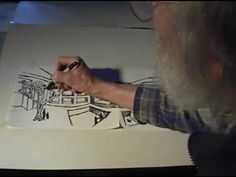 How to draw 4-point perspective • Dick Termes