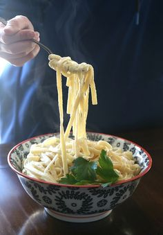 SUPER SImple Fettuccini Alfredo. Can be made in under 20 minutes! My family LOVES this!