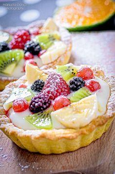tartellette alla crema con frutta by Manuela Bonci on 500px