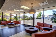 From plumbing store to gorgeous lobby #office #lobby #interior design #sandiegoofficedesign