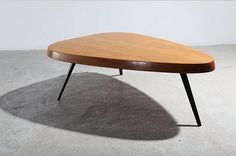 milo baughman coffee table for glenn of california c1950 coveted furniture pinterest. Black Bedroom Furniture Sets. Home Design Ideas