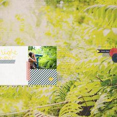 photo background + washi tape