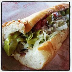 Now that's a sandwich. eegee's grinder http://www.eegees.com/