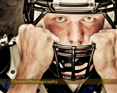 Football uniform, pads other gear look great in senior portraits. Football Senior Pictures, Football Poses, Senior Photos, Senior Portraits, Prom Photos, Prom Pictures, Graduation Portraits, Senior Guys, Sports Photos