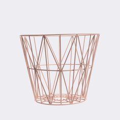 'Wire Basket by Ferm Living. @2Modern'