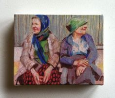 tiny canvas print by etsy shop tushtush