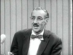 """You Bet Your Life Outtakes 1959-60, Part 1  Racy moments from Groucho's quiz show that couldn't be broadcast. They were compiled into """"stag reels"""" for the annual sponsors' conventions. This is part one of a reel taken from shows filmed in 1959-1960.  NOTICE HE IS SMOKING A CIGAR ON THE AIR!"""