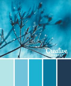 On the Creative Market Blog - 15 Downloadable Color Palettes For Winter Which one do you love? This one makes me smile.