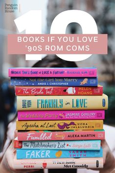 May 2020 - Certain romantic comedies never get old. If you're anything like us and rewatched You've Got Mail or Notting Hill countless times, we know the perfect book match for you this Valentine's Day. These stories. I Love Books, Good Books, Books To Read, My Books, Music Books, Teen Books, Book Suggestions, Book Recommendations, Reading Lists