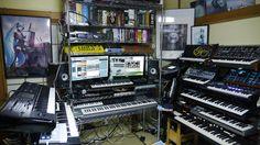 いーえるPさんのスタジオ。ブルジョア・・・ http://www.tinysymphony.com/