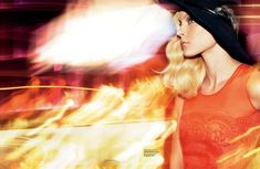 Jessica Stam for Vogue Russia December 2010 by Greg Kadel