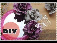 (32) Поделки цветы из яичных лотков ✿РОЗЫ ✿ ROSE FROM AN EGG CARTON!✿Anna Crystal - YouTube