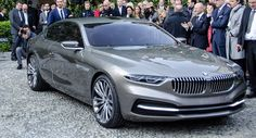 Carscoops: New BMW Pininfarina Gran Lusso V12 Coupé Looks More 7-Series Coupe than 8-Series [Video]