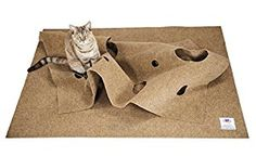 Amazon.com : The Ripple Rug - Cat Activity Play Mat - Made in USA - Fun Interactive Play - Training - Scratching - Thermal Base - Multi Use Habitat Bed Mat : Pet Supplies
