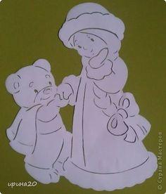 Картина панно рисунок Новый год Вырезание новый год Бумага фото 4