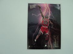 1993-94 Ultra Michael Jordan Scoring Kings insert NBA Chicago Bulls Basketball #ChicagoBulls