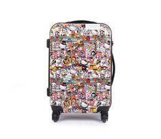 """tokidoki x Hello Kitty 19"""" Suitcase: Circus Collection"""
