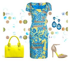Does this bag make my dress look awesome? by tvola5775 on Polyvore featuring polyvore, fashion, style, Versace, Sole Society, Pieces and clothing