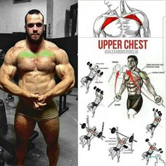 Exercise of the upper chest Exemple of chest workout  Lower chest workout Exercise of the middle pectoral muscle and internal Do the exercises as shown in the picture for the most effective result   Related posts:Close-grip pull-upLegs , tight butt workout!Exercises to target differentRead More →