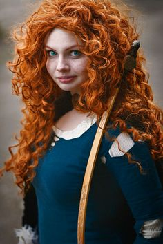 Merida Cosplay #TiCon2014 #Pixar #Brave