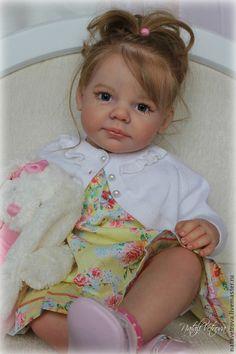 Куклы-младенцы и reborn ручной работы. Заказать Кукла реборн Лиза. Наталья Ветрова. Ярмарка Мастеров. Кукла ребенок, мохер Reborn Baby Girl, Reborn Toddler, Reborn Babies, Real Baby Dolls, Realistic Dolls, Child Doll, Reborn Dolls, Cute Dolls, Vinyl