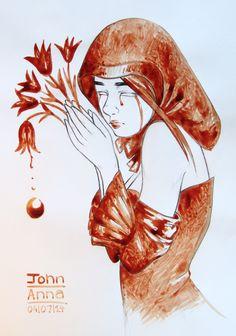 menstrual art | The blood board!! | Pinterest | Blood Art, Calves ...