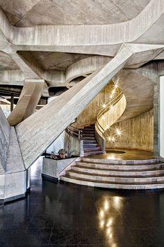 Pier Luigi Nervi, Italian Embassy, Brasília | stairs architecture