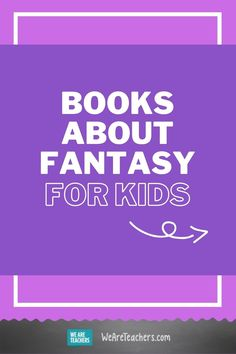 Check out these 20 awesome fantasy books to put on your students' summer reading list: Book Club Books, Book Lists, Fantasy Books For Kids, Drop Everything And Read, Cult Of Pedagogy, Study Board, Summer Reading Lists, Independent Reading, Book Challenge