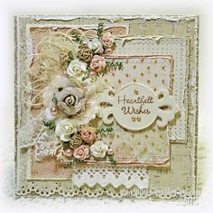 Birthday Card Shabby style - Scrapbook.com