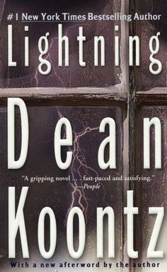 Lightning by Dean Koontz! I remember not being able to put this book down when I read it. I was about 13. AUTHORS AND TOADS AND TIME TRAVEL AND NAZIS OH MY!
