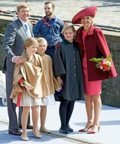 Willem-Alexander,  Maxima &Their Girls.