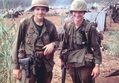 Medic (left) and soldier of the 35th Infantry Regiment