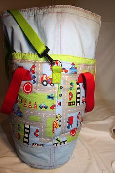 """""""packs ein"""" von Farbenmix als Spielzeugtasche to go fürs Kind"""