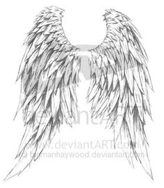 Celtic Angel Wings | Tribal Tattoos, Celtic Tattoos, Butterflies, Crosses, Skulls, Hearts ...