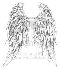 Celtic Angel Wings | Tribal Tattoos, Celtic Tattoos, Butterflies, Crosses, Skulls, Hearts ...