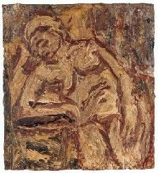 In 1956, Kossoff joined Helen Lessore's Beaux Arts Gallery, located on Bruton Place in London.(Wiki)