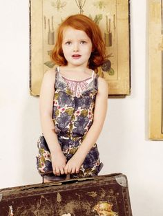 kenzo kids fashion clothing styles for summer 2012 sweet! Redhead Baby, Redheads Freckles, Kenzo Kids, Girl Fashion, Fashion Outfits, Young Fashion, Gorgeous Redhead, Ginger Girls, Designer Kids Clothes