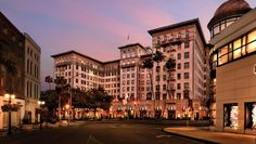 Beverly Wilshire, Beverly Hills, in Pretty Woman #Luxury #Travel